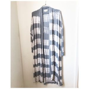 Anthropologie Saturday Sunday tie dye duster Med